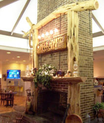 Fireplace Mantels Chainsaw Carving